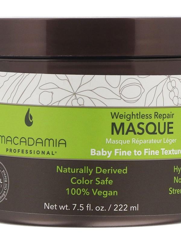 Macadamia Professional Weightless Repair Masque - Weightless Hair Masks For Fine Hair