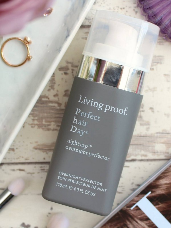 Living Proof Perfect Hair Day Night Cap - Overnight Hair Masks For Fine Hair