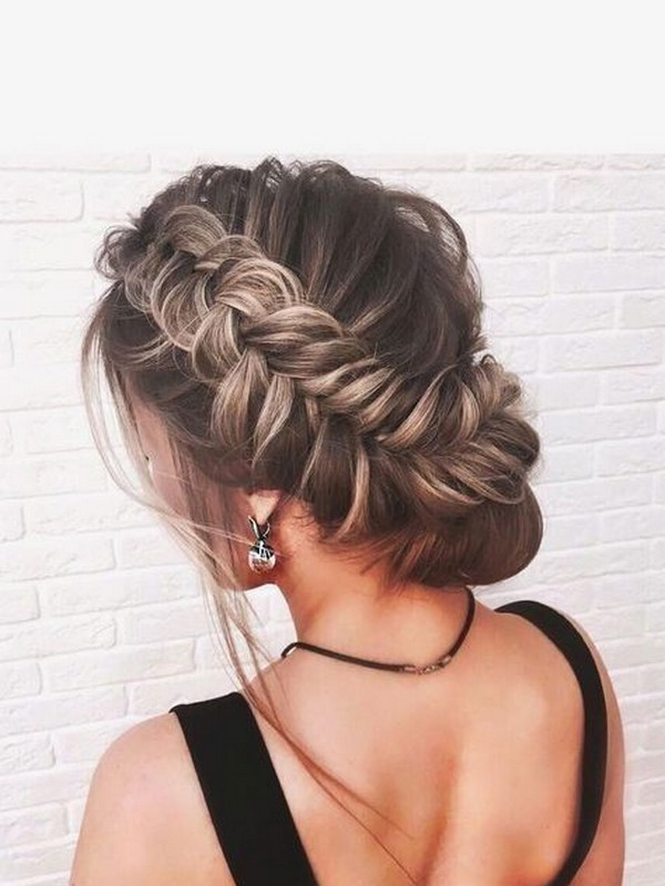 The Braided Updo - Charming Hairstyles For Prom