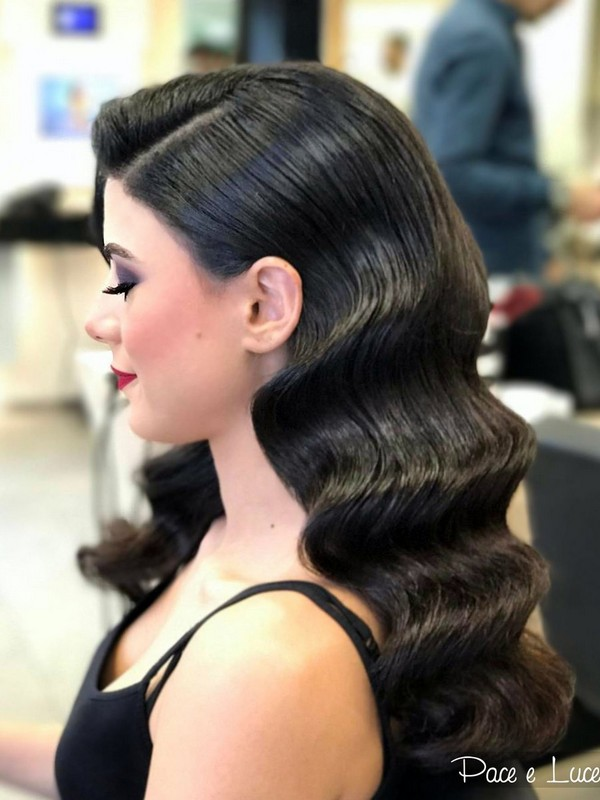 The Vintage Waves - Glamorous Hairstyles For Prom