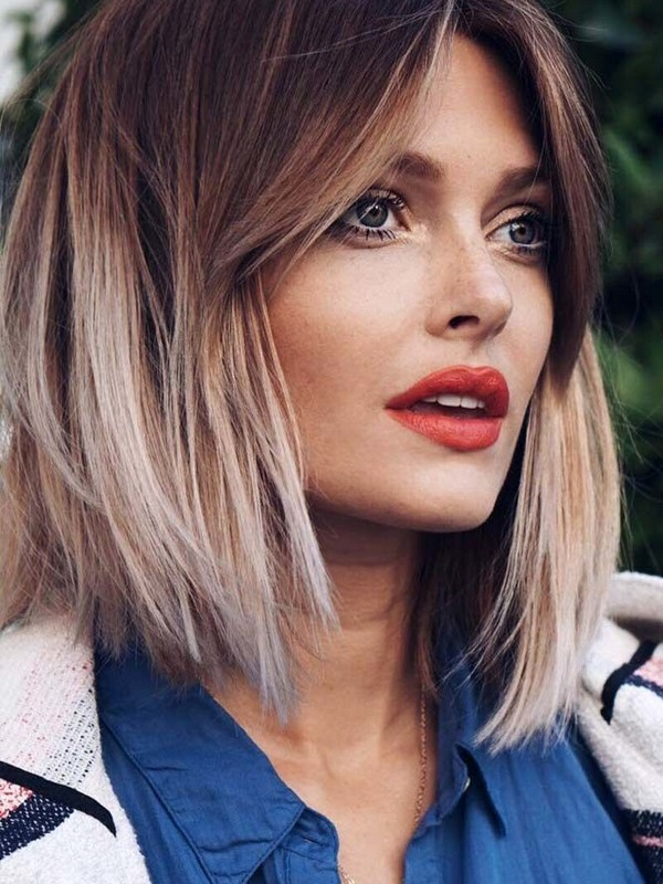 The Bob - Short Hairstyles For Square Faces