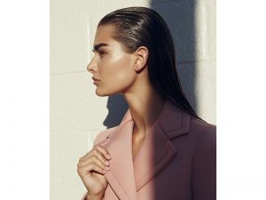 Sleek Pulled - Back. - Chic Hairstyles For Straight Hair.