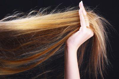 heat damaged hair