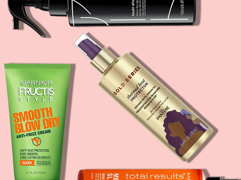 Tip #2 To Care For Your Heat Damaged Hair: Heat Protectant