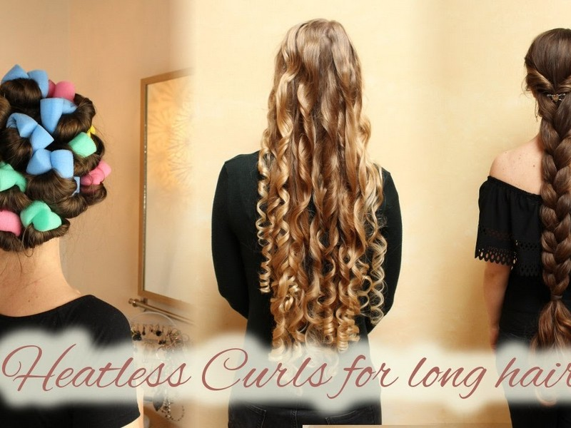 Tip #6 To Care For Your Heat Damaged Hair: Go For The Heatless Ways To Style Your Hair