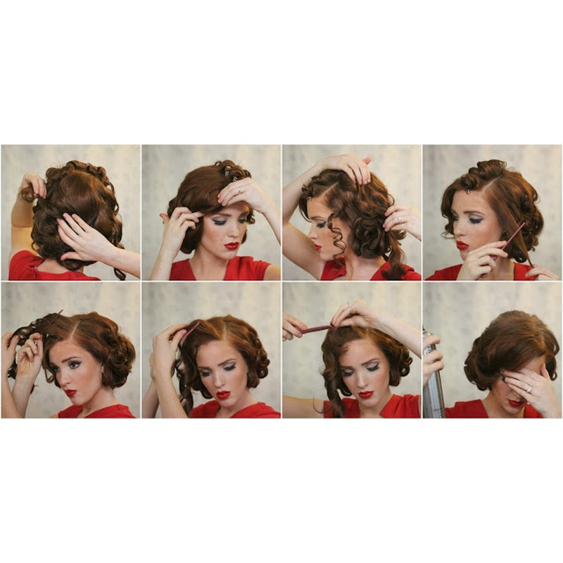 What You Will Need For The Heatless Vintage Pin Curls