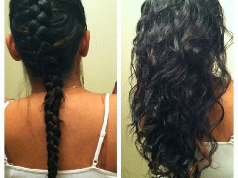 Braids - Easy Way Keep Your Curls In Shape