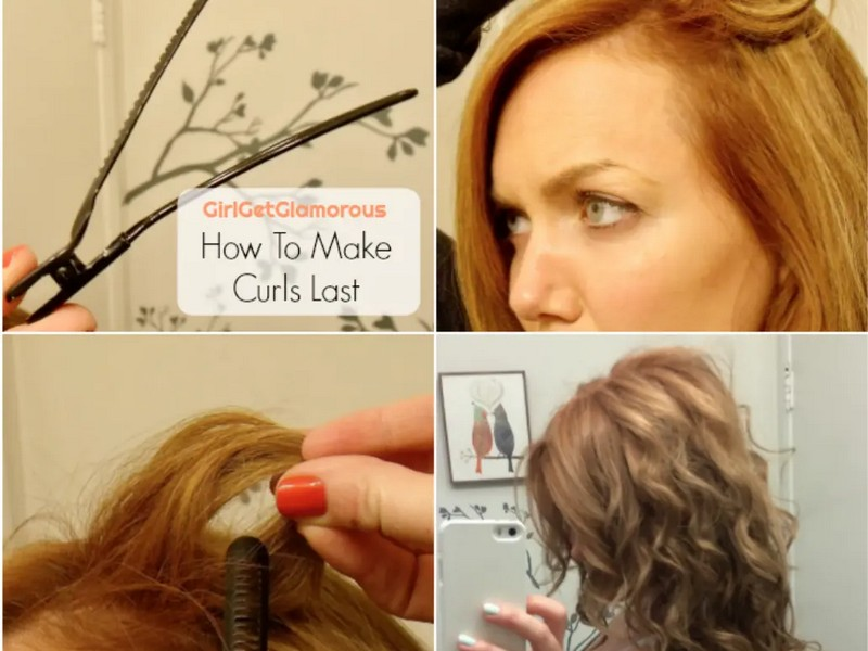 Clips - Fast Way To Keep Your Curls In Shape