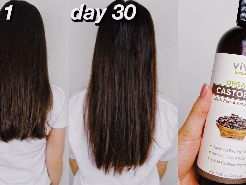 Castor Oil - Hair Growth Makeup Tips From Beauty Bloggers.