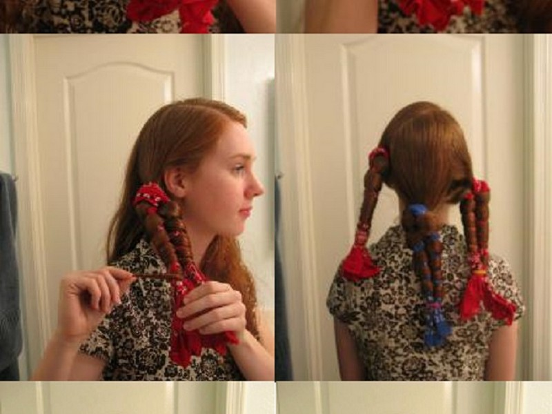 The Steps To Do Overnight Scarf Curls