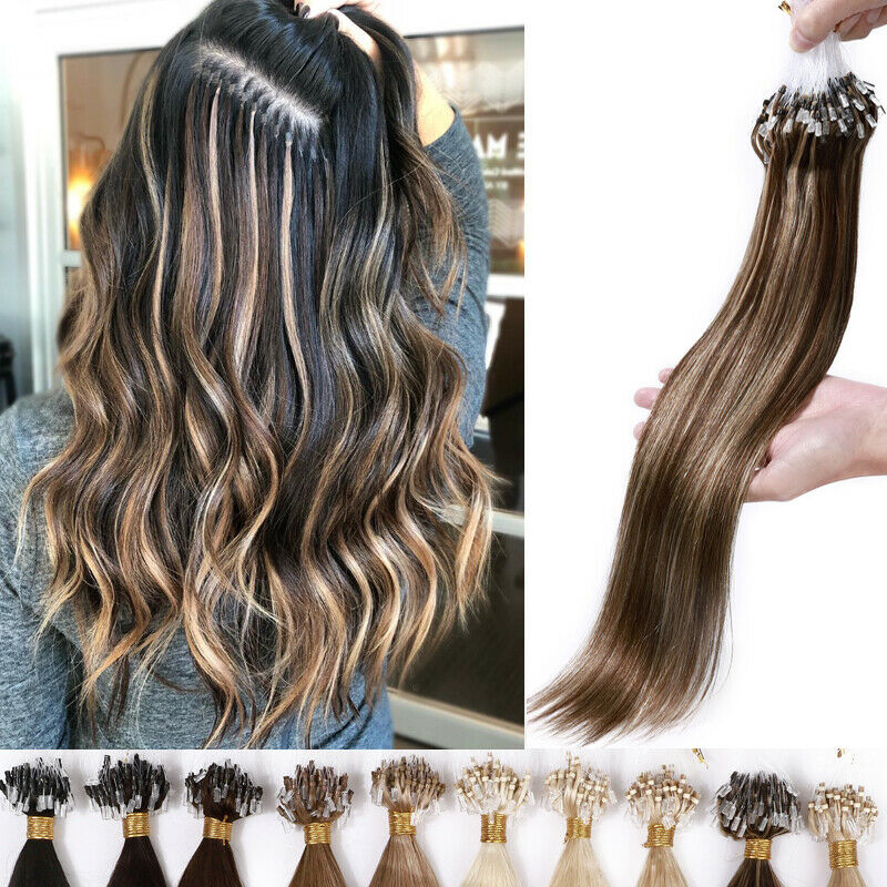 Micro - Easy Hair Extensions For Fine Hair.