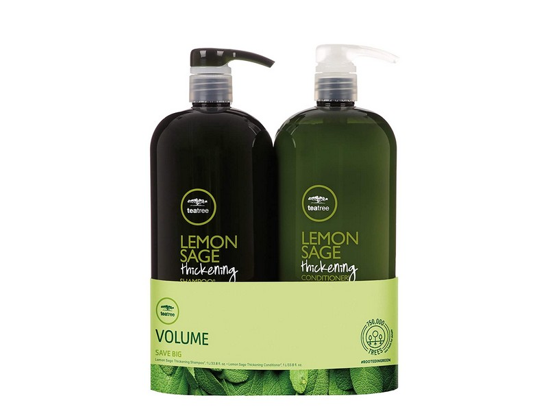 Lemon Sage Thickening Shampoo and Conditioner - Shampoo And Conditioner Combos For Thin Hair