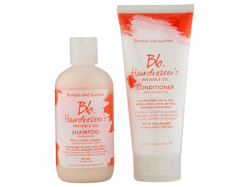 Bumble and Bumble Hairdresser's Invisible Oil Shampoo and Conditioner - Shampoo And Conditioner Combos For Frizzy Hair