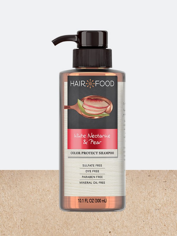 White Nectarine & Pear Color Protect Shampoo - Shampoos For Dry Hair Which Is Dyed