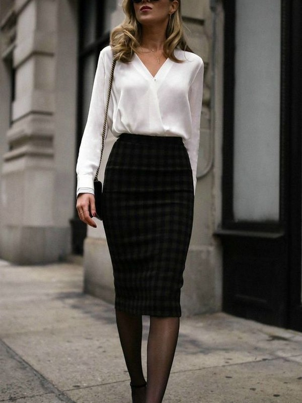 Skirt With Blouse