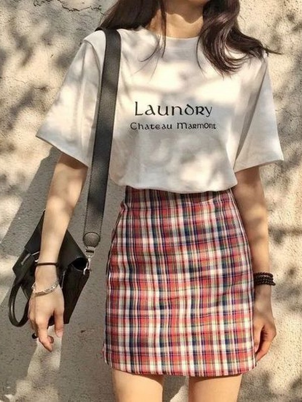 Skirt With T-shirts