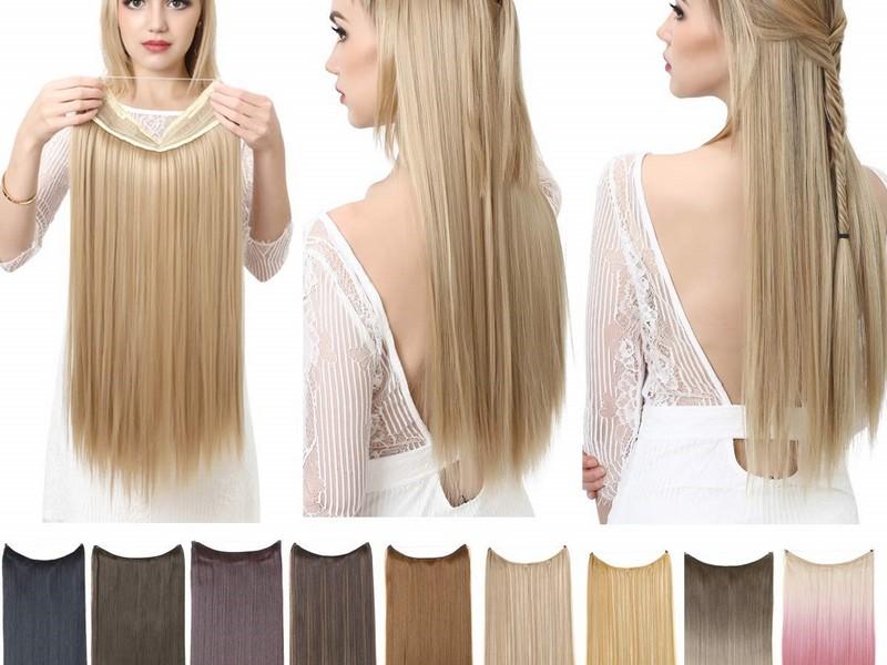 Half up Half down. - Elegant Summer Hair Extension Styles.