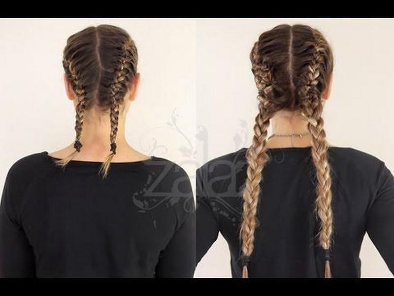 Dutch Braids. - Fun Summer Hair Extension Styles.