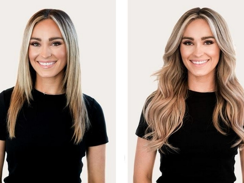 Soft Beachy Waves. - Summer Hair Extension Styles For The Romantic Girl.