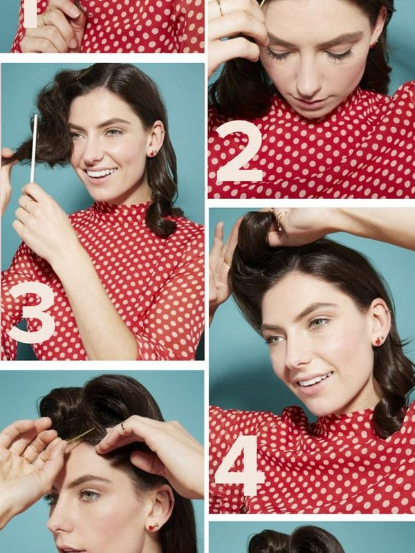 How To Recreate The Victory Rolls In Easy Steps