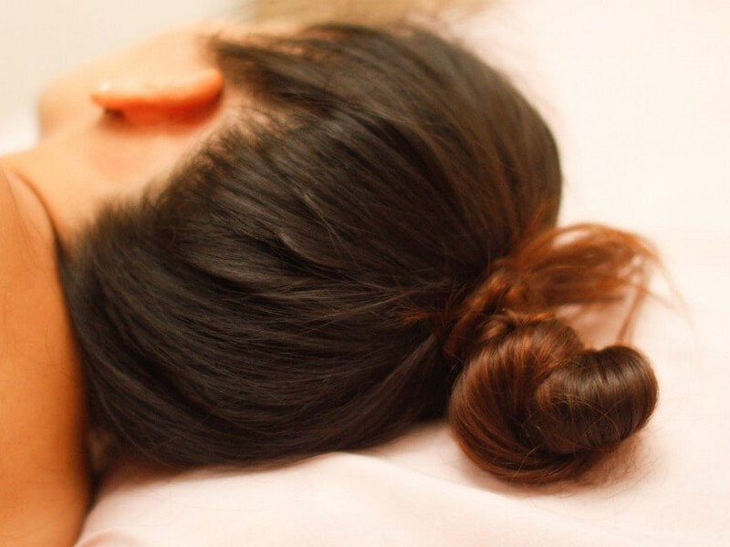 Tips #7 To Add Volume To Your Hair: Bun Up When You Sleep