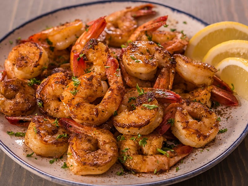 #6 Food To Eat For Hair Growth: Shrimp