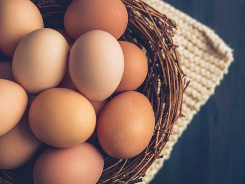 #1 Food To Eat For Hair Growth: Eggs
