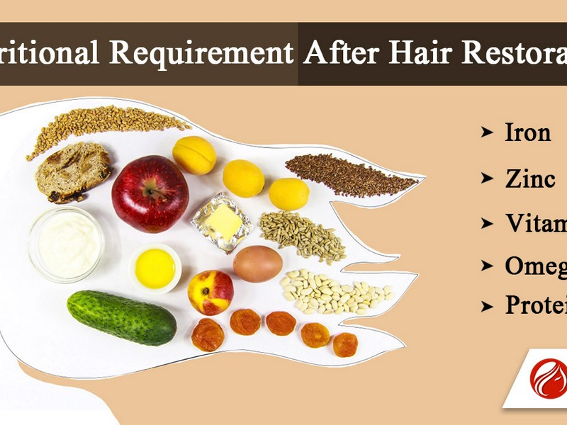 Tip No 1 To Stop Hair Loss: Eat Right.