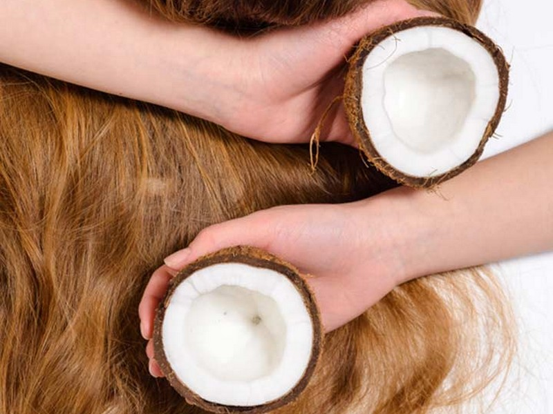Tip No 3 To Stop Hair Loss: Use Coconut Oil