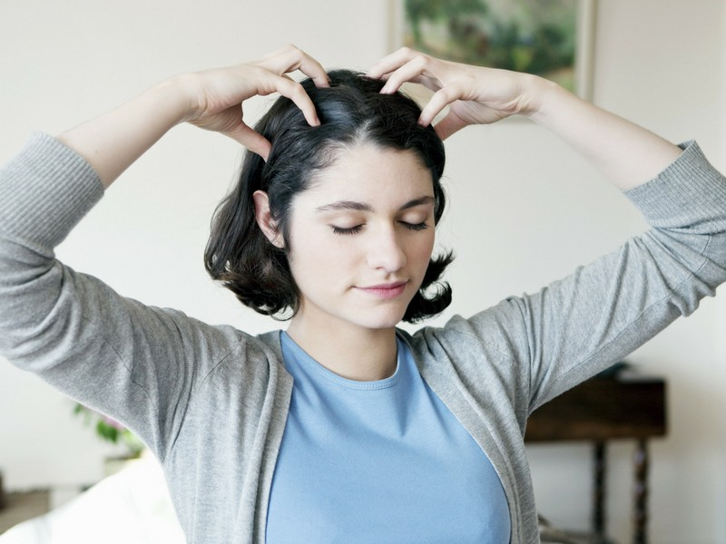Tip No 5 To Stop Hair Loss: Relax Your Scalp