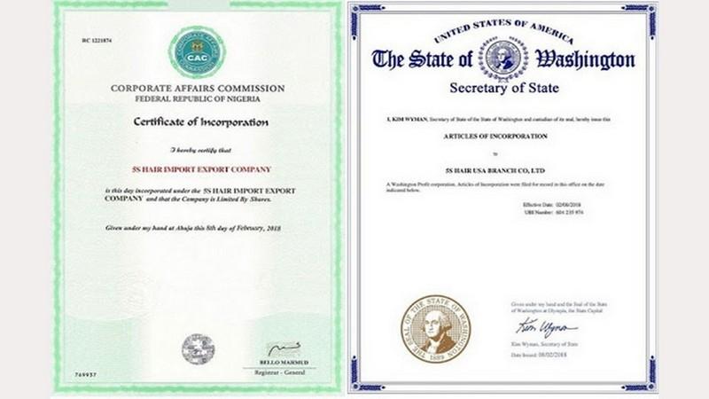Legal Manufacturing License