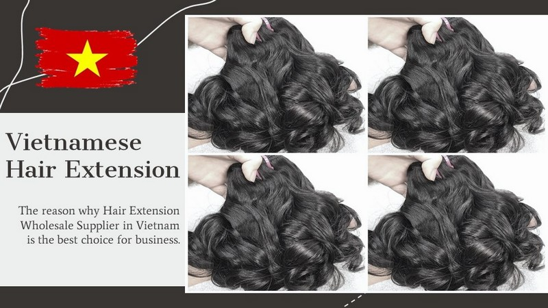 Hair Extension Wholesale Supplier in Vietnam is the best choice for business