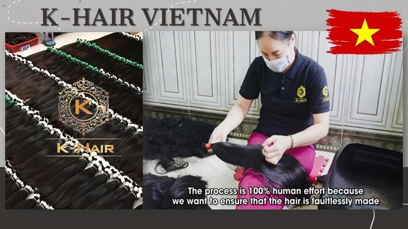 K-Hair Factory – The best famous Vietnamese Hair Vendors