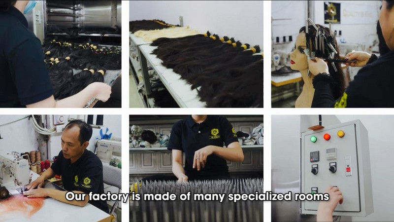 Vietnamese Hair Factory