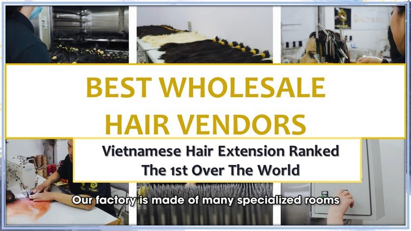Best Wholesale Hair Vendors: Vietnamese Hair Extension ranked the 1st over the world