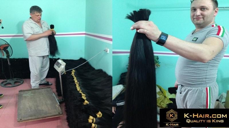 International Wholesalers visited Vietnamese Hair Factory