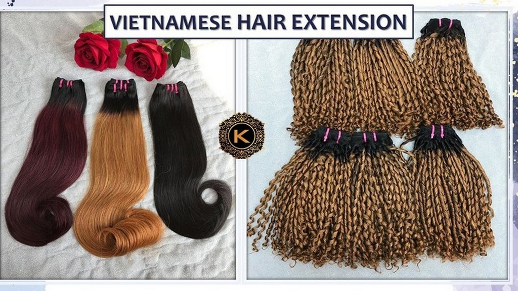 Vietnamese Hair Extension Product