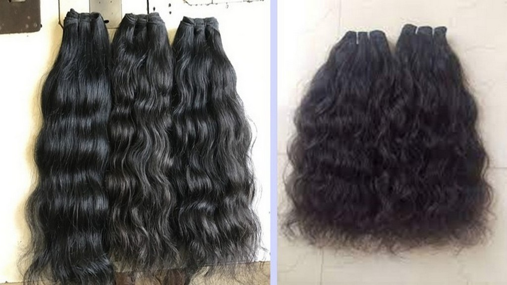 One of the Vietnamese hairstyles is curly and wavy hair