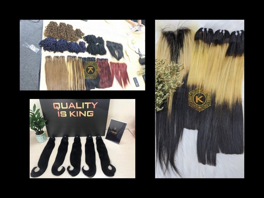 K-Hair Vietnam Hair Extension Product