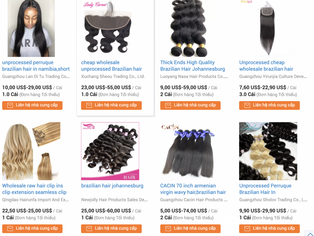 Price-list of Hair Extension in South Africa