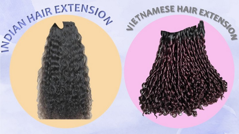 Comparision between Wholesale Hair Vendors from Indian and Vietnam