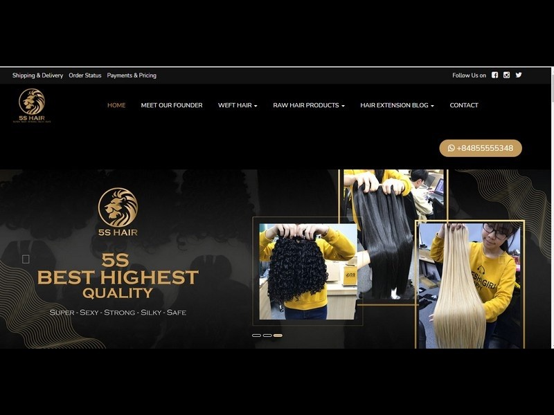 5S Hair Vietnam – The top hair vendors with the breakthrough growth