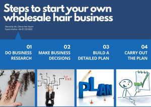 Steps to start your own wholesale hair business