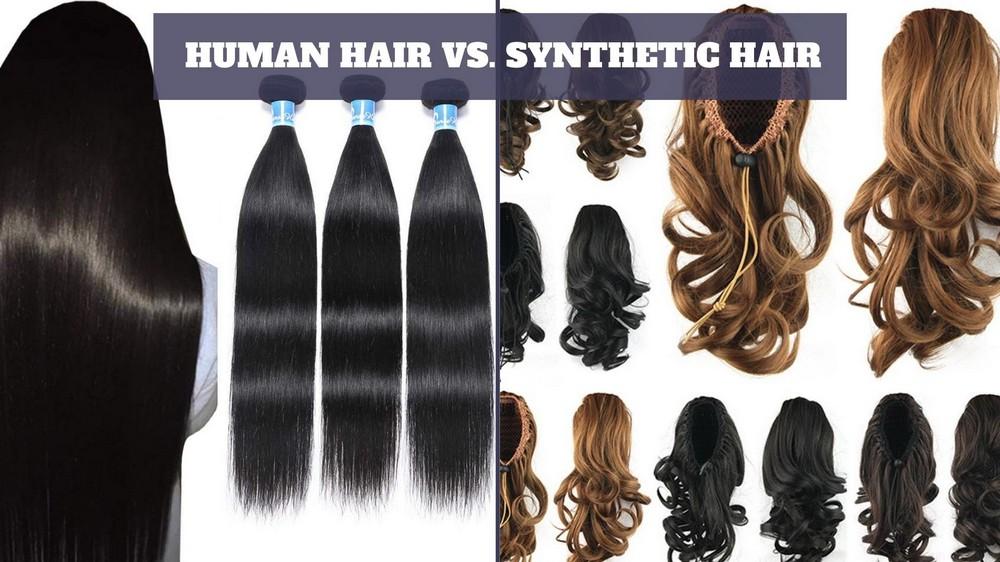 Human-hair-vs-synthetic-hair-wholesale-hair-vendors